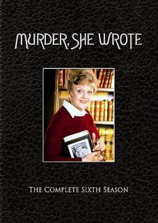 Murder She Wrote   The Complete Sixth Season DVD, 2007, 5 Disc Set