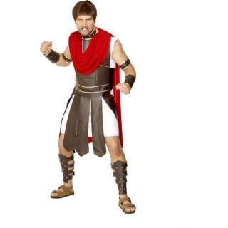 Adult Men Centurion Roman Soldier Fancy Dress Costume L