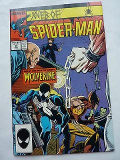 Web of Spider Man 29 Black venom Costume   Wolverine   High Grade