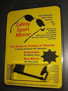 NEW SAFETY SPORT MIRROR, REAR VIEW BICYCLE BIKE, CYCLING, EYE GLASSES