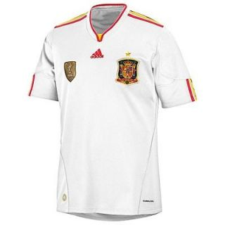 adidas SPAIN 2011 Away World Cup Champions 2010 Soccer Jersey Brand