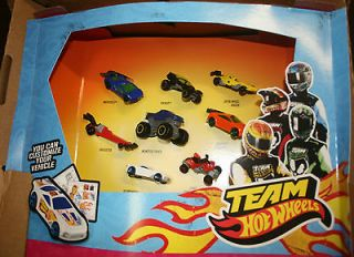 2012 McDonalds Toys ~ Team Hot Wheels ~ 8 toys