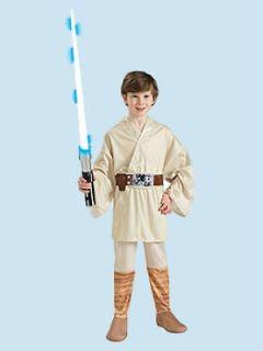 Luke Skywalker Costume Medium Child Size 8   10 Star Wars New