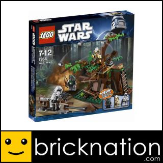 LEGO 7956 STAR WARS Ewok Attack NEW with all Minifigures