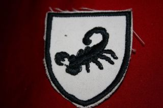RHODESIAN RHODESIA ARMY SPECIAL FORCES CLOTH ARM PATCH