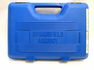 Springfield Armory 1911 A1 Factory Hard Plastic Pistol Handgun Case