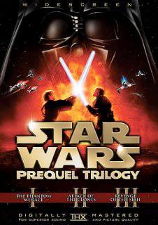Star Wars Prequel Trilogy DVD, 2008, 6 Disc Set, Checkpoint