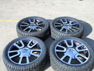 Ford F150 Harley Davidson 22 OEM Alloy Wheels and Tires 2004 2012