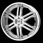 DROP STAR DS01 RIM WHEEL Center Cap CHROME DS01290011