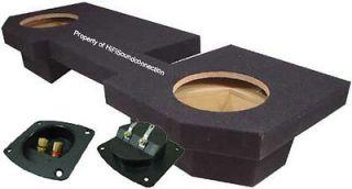 RAM QUAD CAB 02 08 TRUCK DUAL 10 UPFIRE SUBWOOFER SPEAKER SUB BOX