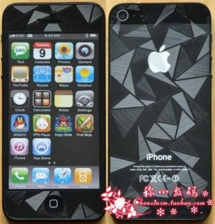 FULL BODY Front+Back Screen Protector Film Guard Sticker iPhone 5 5G