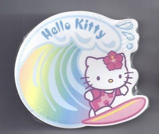Sanrio Hello Kitty Sticky Notes Hawaii Surf Wave