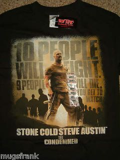 The Condemned Movie Stone Cold Steve Austin T Shirt