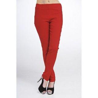 Ladies Womens Fashion Elasticated Waist Jegging Latest Style Size 8