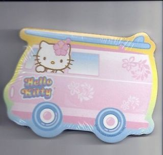 Sanrio Hello Kitty Sticky Notes Hawaii Surf Van