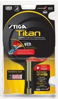 NEW Stiga Titan Racket Table Tennis Ping Pong Paddle