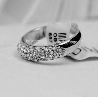 swarovski crystal ring in Rings