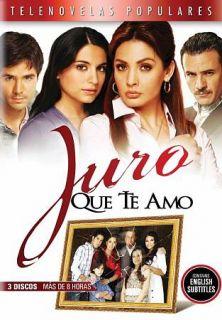 Juro Que Te Amo DVD, 2010, 3 Disc Set