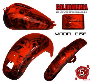 FXD FXDI DYNA SUPER GLIDE CUSTOM PAINT SET TANK FENDERS SIDE COVERS