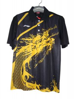 Li Ning Mans London Olympic Games T Shirt Table Tennis/Badmint​on