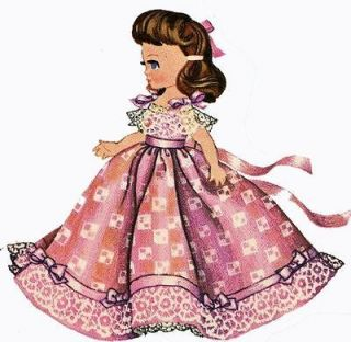 Doll Clothes PATTERN for Betsy McCall 10 1/2 to 11 inch doll #2239