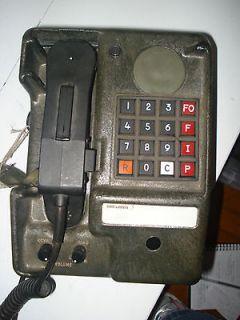 ARMY MILITARY TELEPHONE FIELD PHONE RADIO TA1035/U