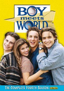 Boy Meets World Season 4 DVD, 2010, 3 Disc Set