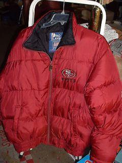 Pro Player Size XL San Francisco 49er Football Warm Down Jacket