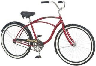 Pacific Oceanside 26 Mens Cruiser Comfort Bicycle/Bike  264164PA