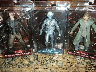 TERMINATOR T 800 T 1000 NITROGEN KYLE REESE SERIES 3 ACTION FIGURE SET