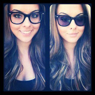 LARGE WAYFARER Sunglasses BLACK & CLEAR Eye Glasses eyeglasses super