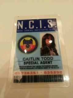 NCIS TV Series ID Badge Special Agent Caitlin Todd