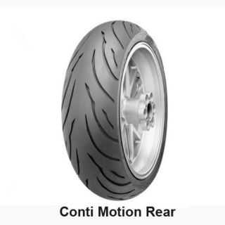190/50ZR17 REAR CONTINENTAL MOTION SPORT BIKE MOTORCYCLE TIRES   FREE