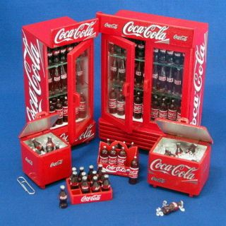 coca cola refrigerator in Coolers