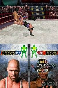 TNA Impact Cross the Line Nintendo DS, 2010