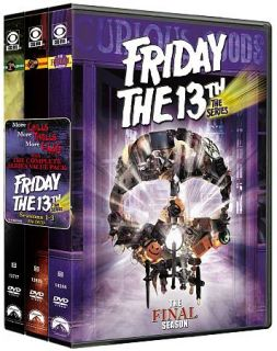 Friday the 13th The Series   Complete Series Pack DVD, 2009, 17 Disc