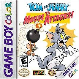 Tom and Jerry in Mouse Attacks Nintendo Game Boy Color, 2000