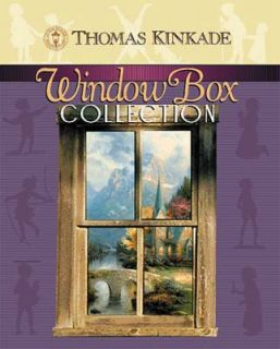 The Window Box Collection Set by Thomas Kinkade 2001, Hardcover