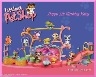 Littlest Pet Shop edible cake image topper  1/4 sheet