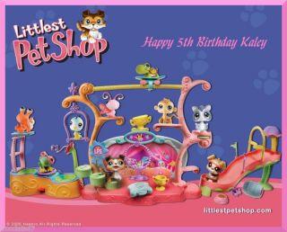 Littlest Pet Shop edible cake image topper  1/4 sheet
