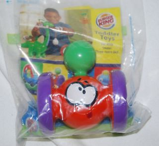 Burger King Little Tikes ROLLING ORANGE FUNNY FACE TOY