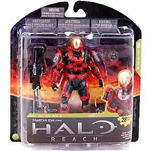 HALO REACH Series 4 Spartan EVA Target Exclusive 5 Action Figure