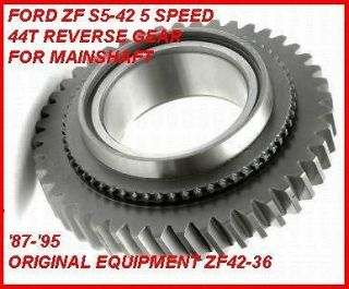 ZF S5 42 5 SPEED MANUAL TRANSMISSION REVERSE GEAR 44T FITS 87 95