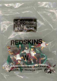 Tudor Electric Football Washington Redskins W HK 1980s