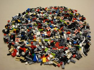 LEGO 1000 SMALL Modification Bricks Parts BULK LOT
