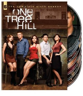 One Tree Hill   The Complete Sixth Season DVD, 2009, Canadian 7 DVD