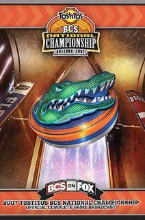 2007 Tostitos BCS National Championship DVD, 2007