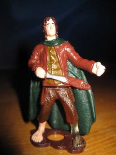 Lord of the Rings LOTR Burger King Action Figure Toy Elrond Mint in