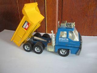 Vintage 1970s ERTL/Structo Toys Hydraulic Dump Truck used