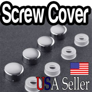 License Plate Frame Screw Cap /Caps for Car / Truck Bolt Covers